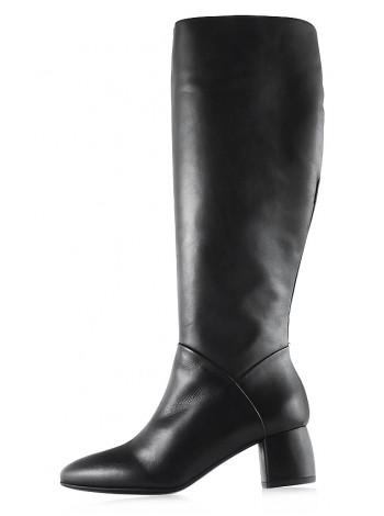 Сапоги еврозима кожаные BEFEETGERALD (ИТАЛИЯ) 11938 черные