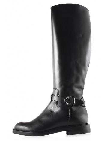Сапоги еврозима кожаные BEFEETGERALD (ИТАЛИЯ) 11939 черные