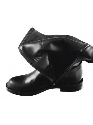 11939 BEFEETGERALD (Italy) Сапоги еврозима кожаные черные