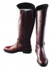 Сапоги еврозима кожаные BEFEETGERALD (Italy) 11941 коричневые
