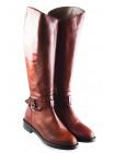 11946 BEFEETGERALD (Italy) Сапоги осенние кожаные рыжие