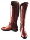 Сапоги осенние кожаные BEFEETGERALD (ИТАЛИЯ) 11946 рыжие