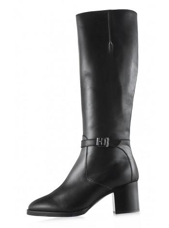 11970 TAMARIS (Germany) Сапоги осенние кожаные черные