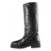 Полусапожки зимние кожаные BEFEETGERALD (ИТАЛИЯ) 12024 черные