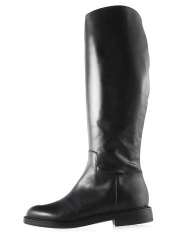 12055 BEFEETGERALD (Italy) Сапоги осенние кожаные черные
