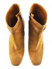 12058 BEFEETGERALD (Italy) Ботильоны осенние замшево-кожаные светло-коричневые