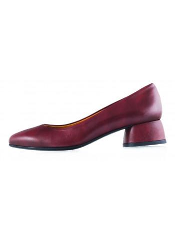 Туфли кожаные BEFEETGERALD (ИТАЛИЯ) 12065 бордовые