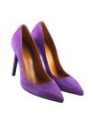 12081 BEFEETGERALD (Italy) Туфли замшевые светло-фиолетовые