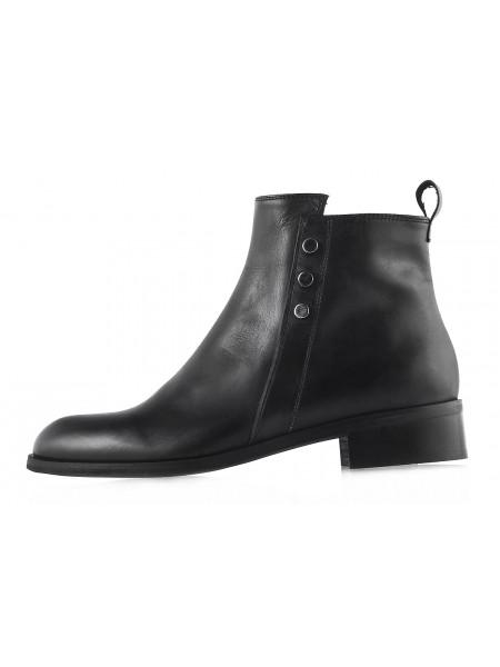 12126 BEFEETGERALD (Italy) Полуботинки осенние кожаные черные
