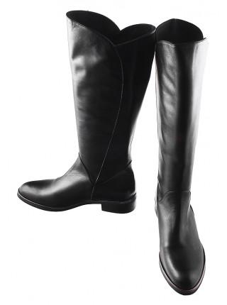 Сапоги осенние кожаные BEFEETGERALD (Italy) 12132 черные
