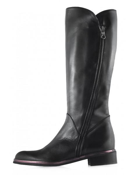12132 BEFEETGERALD (Italy) Сапоги осенние кожаные черные