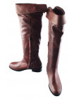 12141 BEFEETGERALD (Italy) Ботфорты осенние кожаные коричневые
