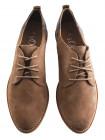 12201 S.OLIVER (Germany) Туфли замшевые светло-коричневые на шнуровке