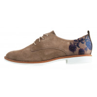 Туфли замшевые S.OLIVER (Germany) 12201 светло-коричневые