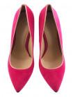 12208 BEFEETGERALD (Italy) Туфли замшевые фуксия-розовые