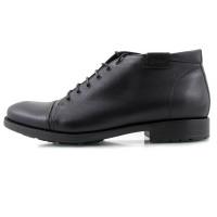 Ботинки осенние кожаные CONHPOL DYNAMIC (Poland ) 2118 черные