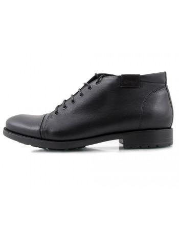 2118 CONHPOL (Poland ) Ботинки осенние черные