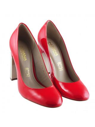 Туфли лаковые INDIANA (Brazil) 12280 коралловые