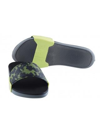 Шлепанцы резиновые RIDER (Brazil) 12397 серо-зеленые