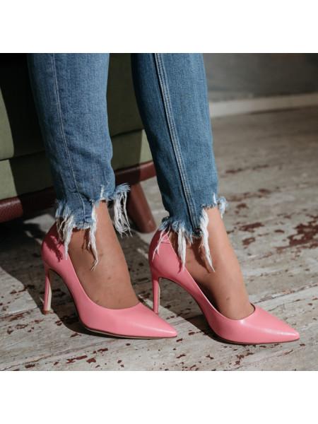 12551 HISTORY (Italy) Туфли кожаные розовые