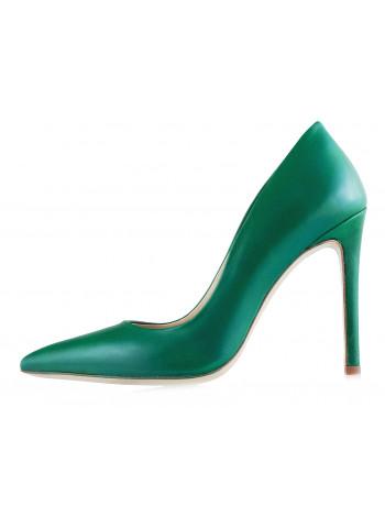 12553 HISTORY (Italy) Туфли кожаные зеленые