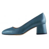 Туфли кожаные BEFEETGERALD (ИТАЛИЯ) 12563 зеленые