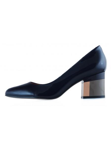 Туфли лаковые INDIANA (Brazil) 12611 темно-синие
