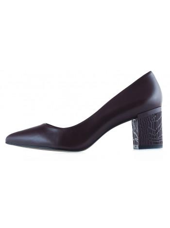 Туфли кожаные INDIANA (Brazil) 12616 бордовые