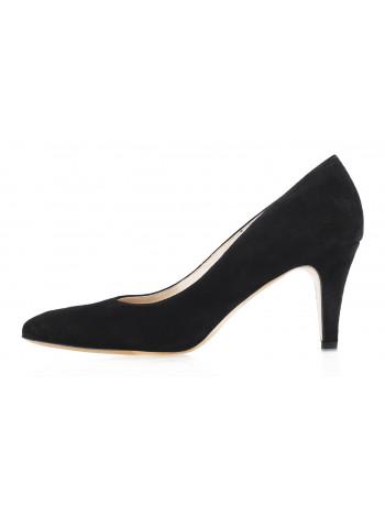 12623 SHOEBOOUTIQUE (Poland) Туфли замшевые черные
