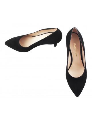 Туфли замшевые SHOEBOOUTIQUE (Poland ) 12623 черные
