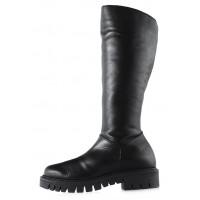 Сапоги зимние кожаные PAULA URBAN (ИСПАНИЯ) 12632 черные