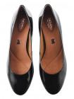 Туфли лаковые INDIANA (Brazil) 12639 темно-зеленые