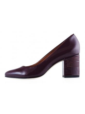 Туфли лаковые INDIANA (Brazil) 12649 бордовые