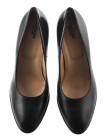 12664 NERO GIARDINI (Italy) Туфли кожаные черные