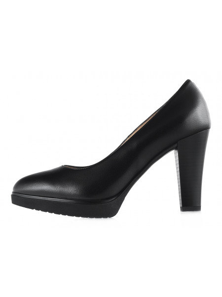 Туфли кожаные NERO GIARDINI (ИТАЛИЯ) 12664 черные