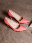 Туфли кожаные BEFEETGERALD (ИТАЛИЯ) 12668 розовые