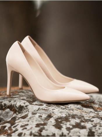 12669 BEFEETGERALD (Italy) Туфли кожаные светло-розовые