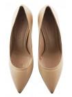 12670 BEFEETGERALD (Italy) Туфли кожаные светло-бежевые