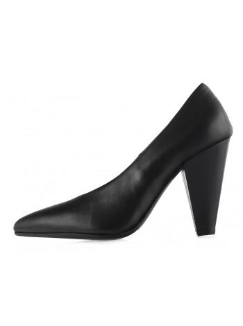 Туфли кожаные BEFEETGERALD (ИТАЛИЯ) 12671 черные