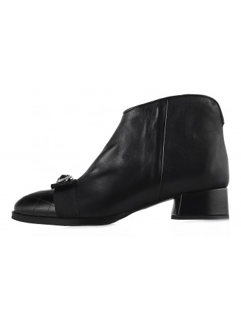 12750 HELENA SORETTI (Italy) Ботинки осенние кожаные черные
