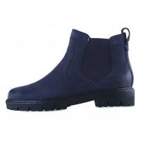 12765 JANA (Germany) Полуботинки осенние кожаные темно-синие