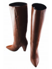 12817 BEFEETGERALD (Italy) Сапоги осенние кожаные коричневые
