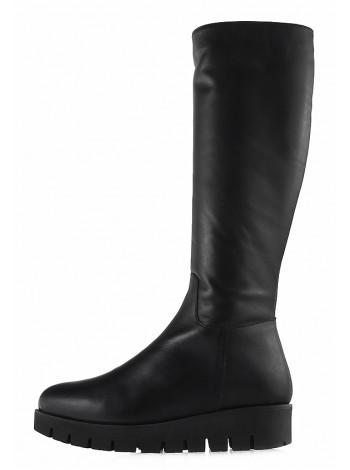 12818 BEFEETGERALD (Italy) Сапоги еврозима кожаные черные