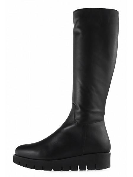 Сапоги еврозима кожаные BEFEETGERALD (Italy) 12818 черные