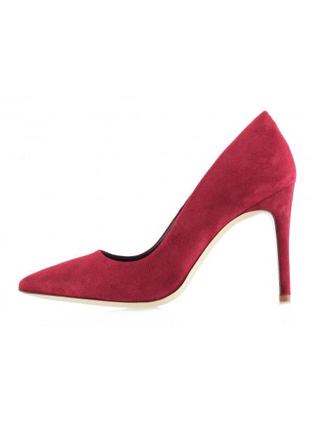 12922 BEFEETGERALD (Italy) Туфли замшевые бордовые