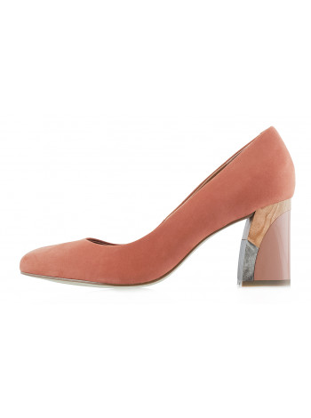 12982 INDIANA (Brazil) Туфли нубук бежевые