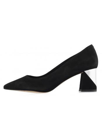 13007 INDIANA (Brazil) Туфли нубуковые черные