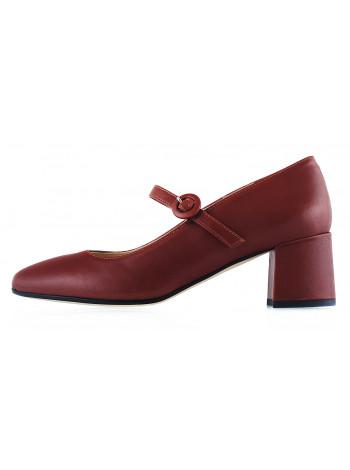 Туфли кожаные BEFEETGERALD (ИТАЛИЯ) 13056 коричневые