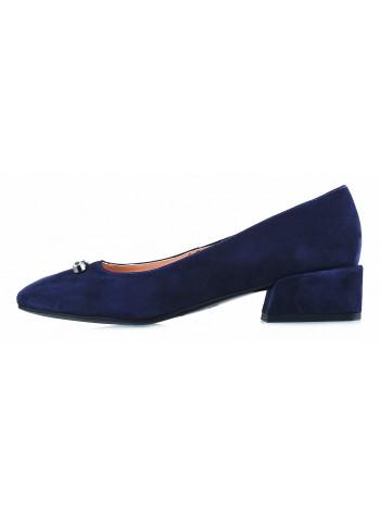 Туфли замшевые VICTIM (Poland ) 13096 синие