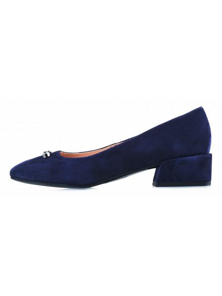 13096 VICTIM (Poland) Туфли замшевые синие